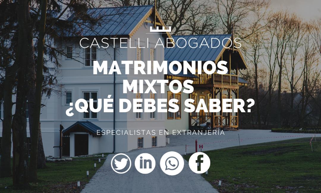 Matrimonios Mixtos ¿qué debes saber?