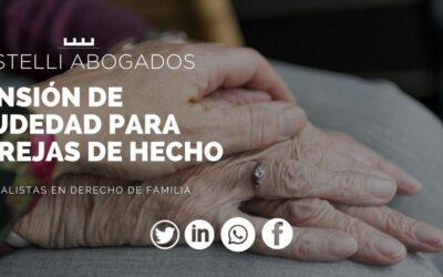 Pensión de viudedad en parejas de hecho. Te la explicamos