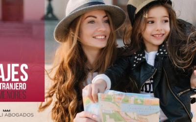 Viajes al extranjero con hijos ¿Qué autorización necesito?